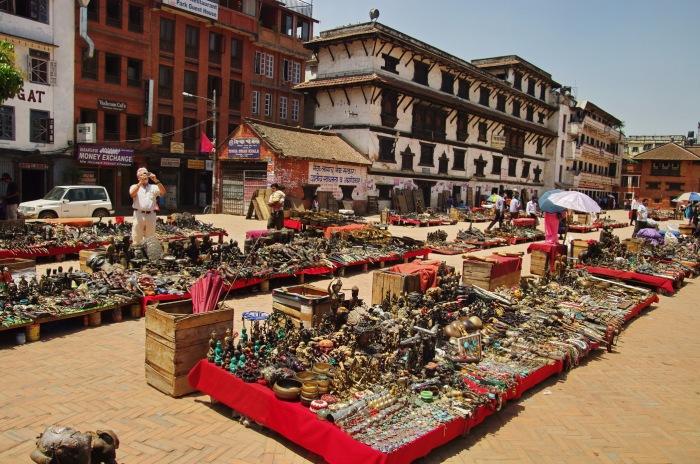 Shopping spot at Kathmandu Durbar Square