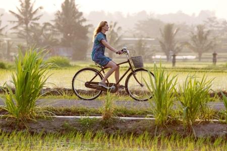 "An ""Eat, Pray, Love"" scene in Ubud"