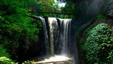 Maribaya Waterfall.